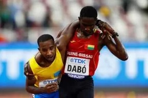 World Athletics Championships: Braima Suncar Dabo Helps Jonathan Busby