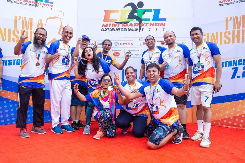 2019 CCCL mini marathon